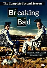 BREAKING BAD THE COMPLETE SECOND SEASON2 // USED 4DVD SET // SLIP COVER IS TORN
