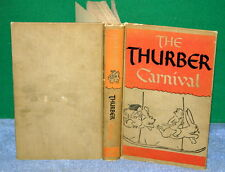 Vintage Book - The THURBER CARNIVAL by James Thurber - Harper & Brothers 1945