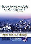 Quantitative Analysis for Management and Student CD-ROM, Eighth-ExLibrary