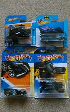 Hot Wheels 2011 Premiere Batman, Arkham Asylum Batmobile And The Bat - New