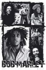 Bob Marley Poster De Pared Arte Decoración Hogar Foto Collage lp1258 Maxi 61cmx91.5 Cm 511