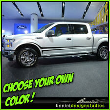 2007 2008 - 2013- 2014 2015 Ford F-150 F-250 F-350 HD Side Stripes 2