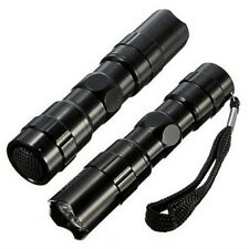 HOT Lighting Portable Mini LED Flashlight Torch Lamp Outdoor Camping 1AA Black