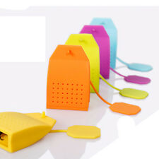 Factory Outlet Silicone Tea Strainer Herbal Spice Infuser Bag Filter Diffuser 1x