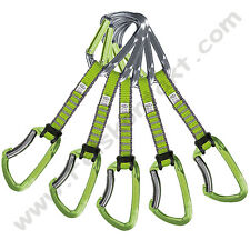 "Express-Set,  ""Lime"" -grün- 5er-Set von Climbing Technology"