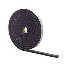 """NEW M-D 02055 GRAY FOAM WEATHER STRIPPING TAPE SELF ADHESIVE 3/8"""" X 3/16"""" 17 FT"""
