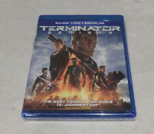 TERMINATOR GENISYS BLU-RAY+DVD+DIGITAL HD INCLUDES 22-PAGE EXCLUSIVE COMIC BOOK
