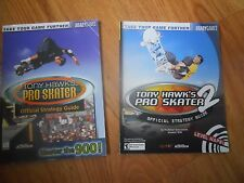 (2)  Tony Hawk's PRO SKATER  Official Strategy Guide  BRADY GAMES  1999