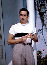 Tyrone Power UNSIGNED photo - D1650 - HANDSOME!!!!