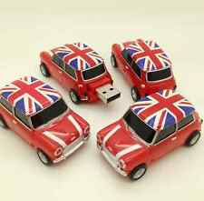 Fashional Mini cooper car shape USB 2.0 16GB flash drive memory stick pendrive