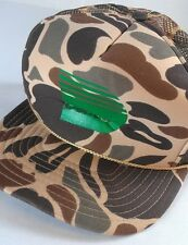 Denver City Snapback Hat VTG Cap Trucker Light Colorado Foam Front Camo Hunting