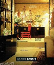 PUBLICITE ADVERTISING 116  1978  Roche-Bobois  meubles  époque Tang