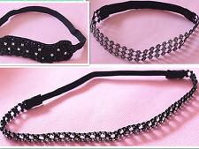 1pc Hot Elegant Headband Rhinestone Crystal Elastic Stretch Hair Band Accessory