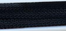9mm Black Gimp Braid
