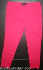 New Womens 10 Elizabeth and James Office Skinny Professiona Pink Knit Pants Play