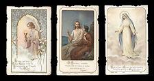 lotto santini-holy cards lot-lot images pieuses-konvolut heiligenbildichen n.151
