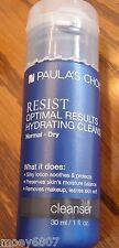 New 1oz PAULA'S CHOICE Resist Optimal Results Hydrating Face Cleanser Normal/Dry
