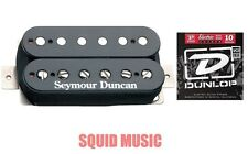 Seymour Duncan Custom Custom SH-11 Humbucker Black Bridge Pickup (1 STRING SET)