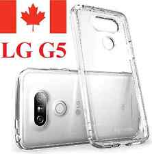 LG G5 Case - Crystal Clear Gel Ultra Thin Soft TPU Transparent Cover 5.3""