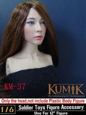 "1:6 Scale Kumik Female Head Sculpt F 12"" Women Figure Body KM-37 Accessory Toys"