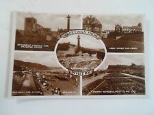 Vintage RP Postcard GREETINGS FROM WHITBY Multi-View Unposted