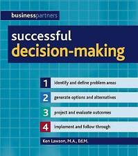 LAWSON, KEN-SUCCESSFUL DECISION-MAKING  BOOK NEW