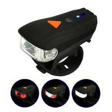 Outdoor Smart lamp Torch Bike Bicycle USB Rechargeable LED Handlebar HeadLight