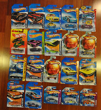 Lot of 21 Hot Wheels Cars: Batman 66 Corvette G6 77 Funny Cul8R 68 El Camino +#1