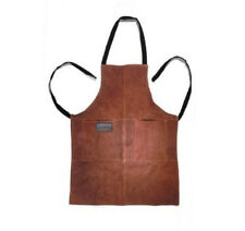 Outset Leather Grill Apron NEW BBQ Barbeque Grilling Cooking Cook Barbecue