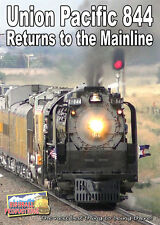 Union Pacific 844 Returns to the Mainline 2016 DVD NEW UP Frontier Days Cheyenne