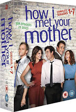 HOW I MET YOUR MOTHER - SEASON 1 TO 7 - DVD - REGION 2 UK