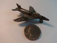 Dinky #734 Vintage Gray&Green Camouflage SuperMarine Swift Jet Fighter Airplane