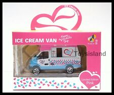TINY HONG KONG CITY Happy Valentine's Day Ice Cream Van NEW DIECAST CAR B