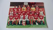 LIVERPOOL FC 1986-87 KENNY DALGLISH BOB PAISLEY PRESS OR CLUB ISSUED PHOTOGRAPH