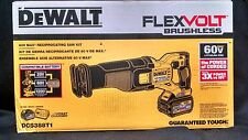 DeWalt DCS388T1 FlexVolt 60V Max Brushless Reciprocating Saw Kit NEW