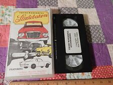 Those Wonderful Studebakers (VHS, '93) Swap Meets/Car Shows - Nat'l Museum (Doc)
