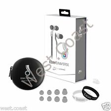 New MEE Audio EDM Universe D1P-WT In-Ear Headphone Headset Functionality White