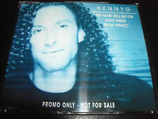 Kenny G My Heart Will Go On Rare Australian Promo CD Single