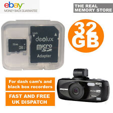32 Gb Tf Flash Microsd Tarjeta de Memoria SDHC de nextbase402g coche DASH BOARD Video Cam