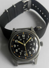 Benrus Military Watch DTU-2A/P MIL-W-3818B For The Vietnam War Issued In 1965