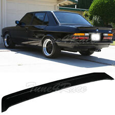 Fits 81-88 BMW 5-Series E28 M5 M-Tech Style Fiberglass Trunk Spoiler Body kit
