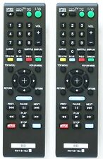 PAIR Replacement Sony Blu-ray Remote Control 149002712 RMT-B119A (two for one!)