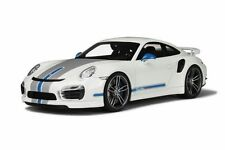 GT Spirit Porsche 911 991 Turbo S Techart White 1:18*New Item!