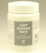 Vallejo 26185 Effekt Helle Dioramen-Paste 200 ml
