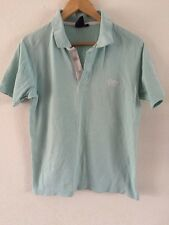 Cotton Traders Polo Top T Shirt Size S Mint Green  R6888