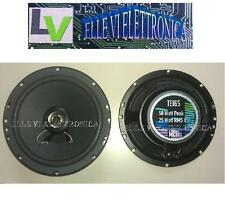 TE165 MCA Coppia Casse Coassiali Woofer Tweeter 2 Vie 50 Watt 16,5 Cm 165 Mm