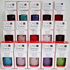 CND SHELLAC UV LED POWER POLISH 15-PC SET+FREE BASE COAT Pick ANY Gel Color NEW