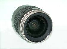 Nikon AF Nikkor 28-80mm f/3.3-5.6G Silver Lens Used in Digital Camera