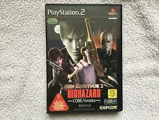 Sony PLAYSTATION 2 gioco, BIOHAZARD GUN SURVIVOR 2 VERSIONE NTSC/JAP.