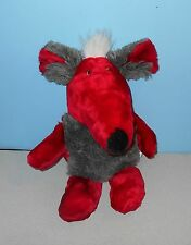 "20"" EIFA QUAKENBRUECK German Red Rat w/ Grey Tummy Stuffed Plush Animal"